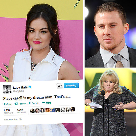 Tweets of the Week: Lucy Hale, Channing Tatum, Rebel Wilson & More!