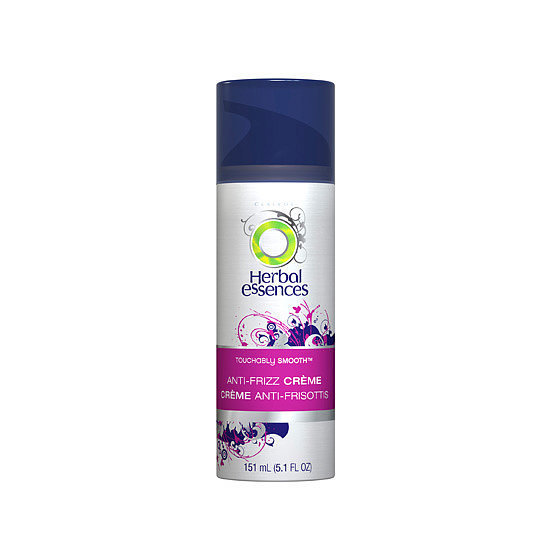 The creamy Herbal Essences Touchably Smooth Anti-Frizz Creme ($6) works to block out the moisture in humid air to prevent frizz from happening. Plus, the scent is divine.