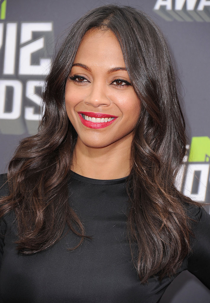 Zoe Saldana at the MTV Movie Awards