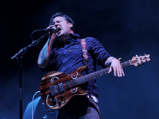 Modest Mouse's Isaac Brock gave a lively performance.