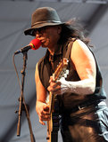 Comeback musician Rodriguez made an appearance at Coachella's final day of weekend one.