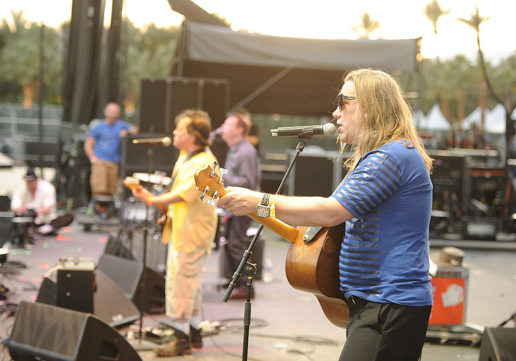 Gordon Gano, Victor DeLorenzo, and Brian Ritchie of Violent Femmes made an appearance at Coachella's day two.