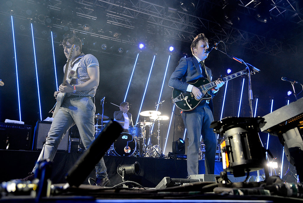 Saturday saw Two Door Cinema Club as one of the festival's performers.