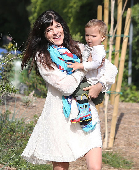Selma Blair and her son Arthur spent a day outdoors in LA together on Friday.