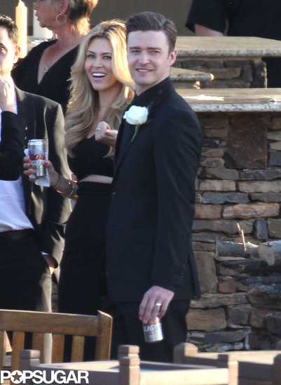 Justin Timberlake drank Coors Light at a wedding.