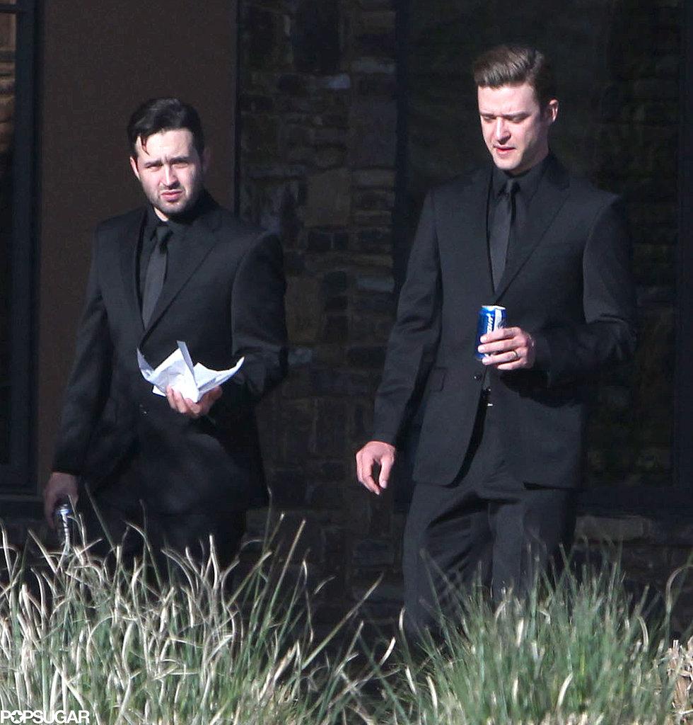 Justin Timberlake Kicks Back With a Coors Light at His Pal's Hometown Wedding