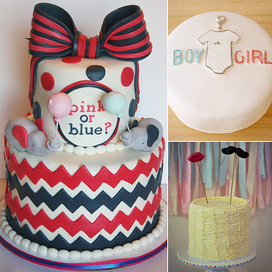 Cake Ideas For Baby Reveal Party : Gender Reveal Party Cakes