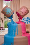 Paint Cans Cake