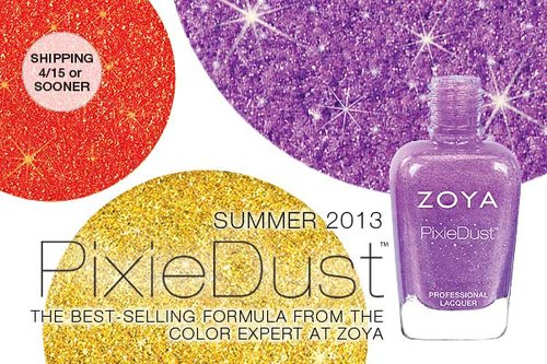 Zoya 2013 Summer Pixie Dust Collection
