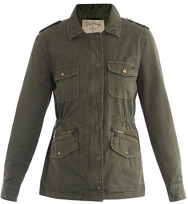 Velvet Lily Aldridge Army jacket