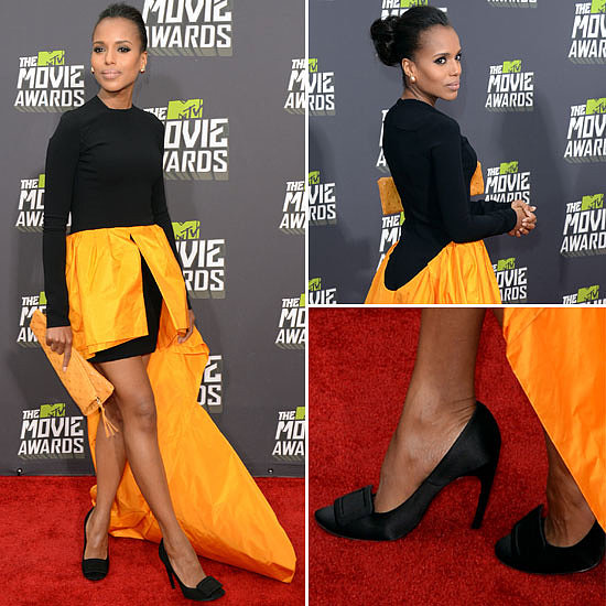 Kerry Washington Wears Michael Kors at 2013 MTV Movie Awards