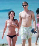 Rachel Bilson and Hayden Christensen Monkey Around With Friends in Barbados