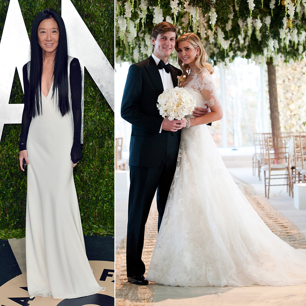 Ivanka Trump and Vera Wang