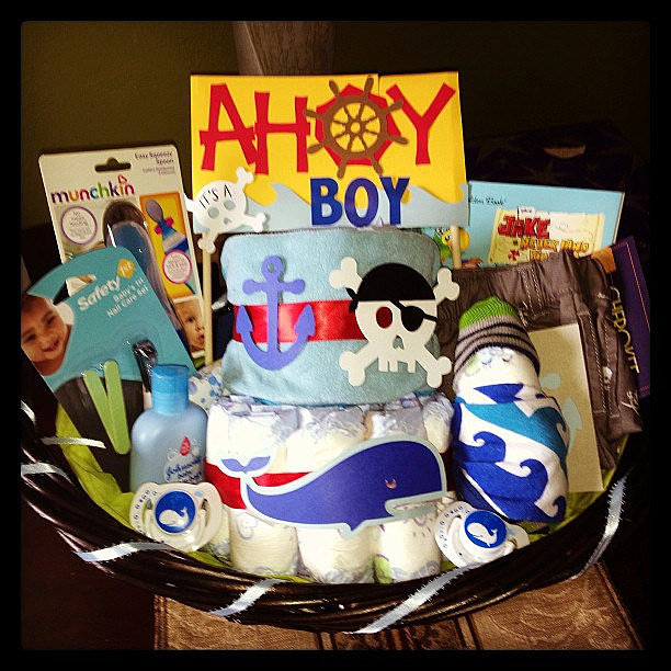 Ahoy It's a Boy Gift Set