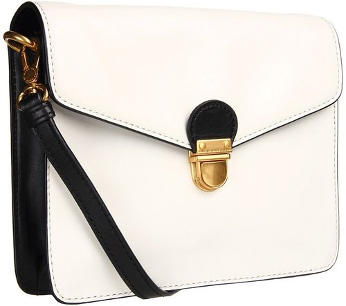 Marc by Marc Jacobs - Top Chicret Colorblocked Cross Body (White Birch Multi) - Bags and Luggage