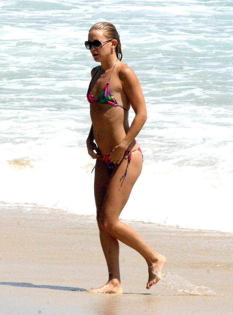 Kate enjoyed lots of beach time during her trip to Australia in 2007.