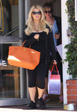 Jessica Simpson went shopping in LA on Wednesday.