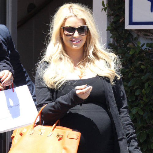 Jessica Simpson Shopping in LA While Pregnant