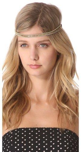 Dauphines of new york The Golden Child Headband