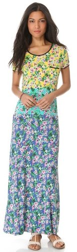 Juicy couture Hibiscus Maxi Dress