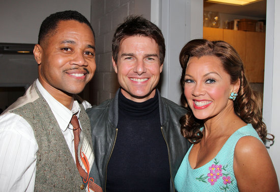 Tom Cruise met with Vanessa Williams when he visited Cuba Gooding Jr.