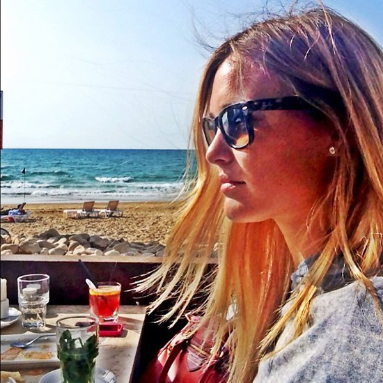Bar Refaeli soaked up the sun while hanging out with friends in Israel. Source: Instagram user barrefaeli