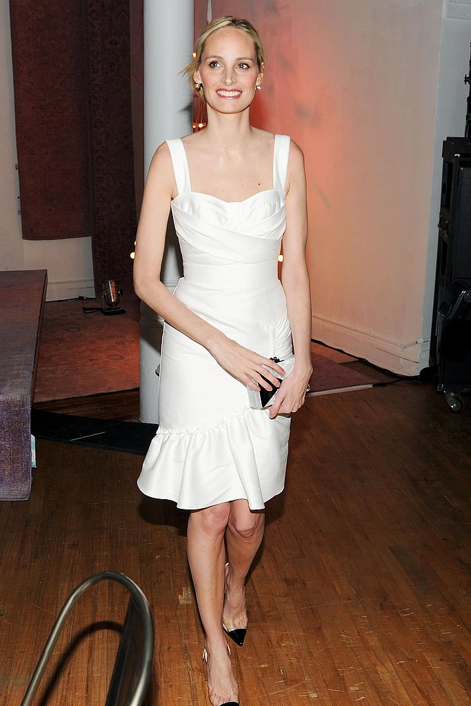 Lauren Santo Domingo at Art Production Fund's Gala in New York. Source: Billy Farrell/BFAnyc.com