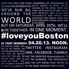 #loveyouBoston