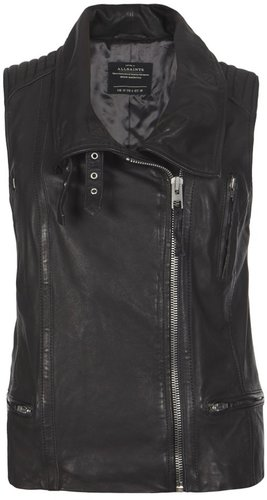 Leverne Leather Gilet