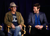 Johnny Depp and Armie Hammer launched the trailer for The Lone Ranger.