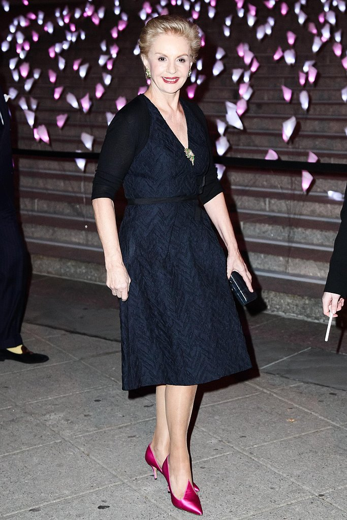 Carolina Herrera at the Tribeca Film Festival Vanity Fair party. Source: Matteo Prandoni/BFAnyc.com