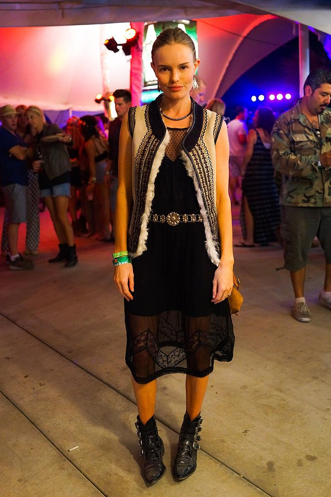 Kate Bosworth wore Topshop at Coachella in Indio, CA. Source: David X Prutting/BFAnyc.com