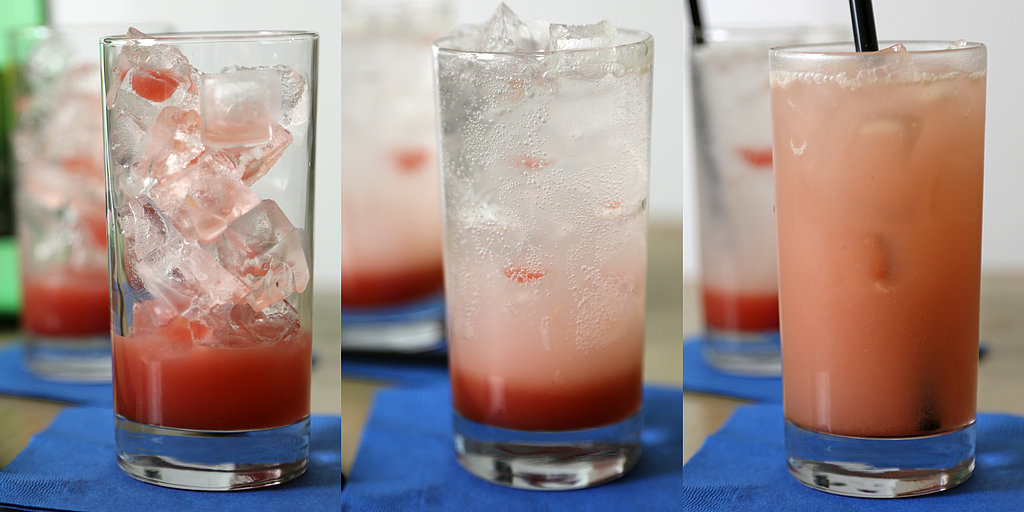Perk Up With a Pink Rhubarb Soda