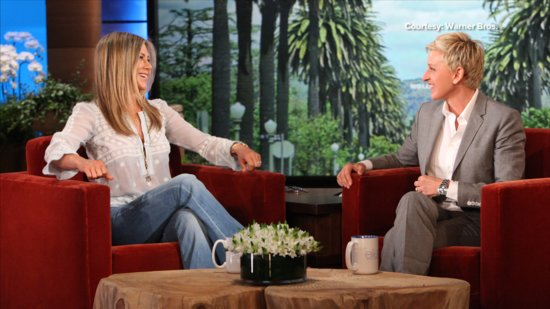 Video: Jennifer Aniston's Hilarious Failed Attempt to Scare Ellen DeGeneres! We Have the Video!