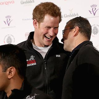 Prince Harry at Walking With The Wounded Launch