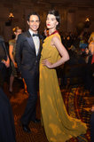 Designer Zac Posen partied with model Crystal Renn at the premiere of Magnum ice cream's As Good as Gold premiere.