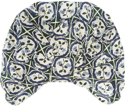 Anna Sui Printed silk crepe de chine turban