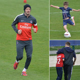The Beckham Boys Train With PSG While Victoria Gets In Sister Bonding