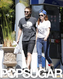 Kristen Stewart and Robert Pattinson ran errands together in sunny LA.