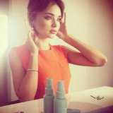 Miranda Kerr promoted beauty line Kora Organics with this pretty snap. Source: Instagram user mirandakerr