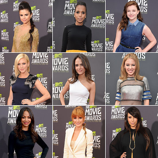 The stars did not disappoint on the 2013 MTV Movie Awards red carpet.