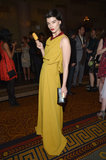 Crystal Renn at the As Good as Gold Magnum Gold film premiere in New York.