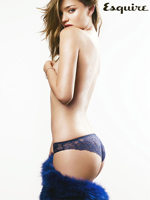 Miranda Kerr was named the Sexiest Woman Alive in Esquire UK's December 2012 issue.