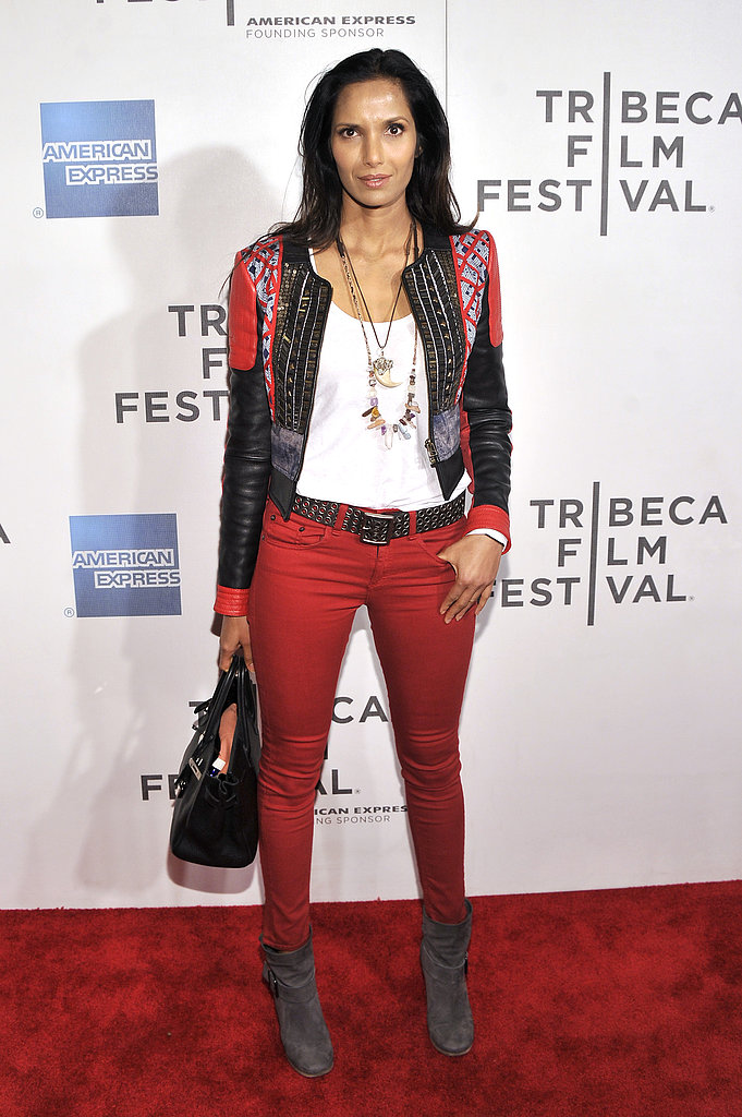 Padma Lakshmi attended the premiere of Sunlight Jr..