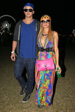 Paris Hilton attended the second weekend of Coachella with her boyfriend, River Viiperi.