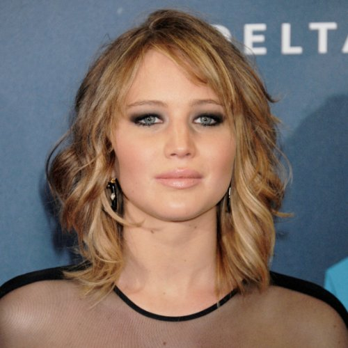Jennifer Lawrence Lob Haircut