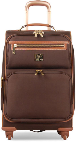 """Diane von Furstenberg Suitcase, 20"""" Private Jet II Rolling Carry On Expandable Spinner Upright"""