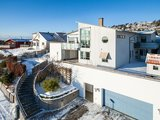 Built in 2003, the property looks out over the coast of Sweden. Source: Sotheby's