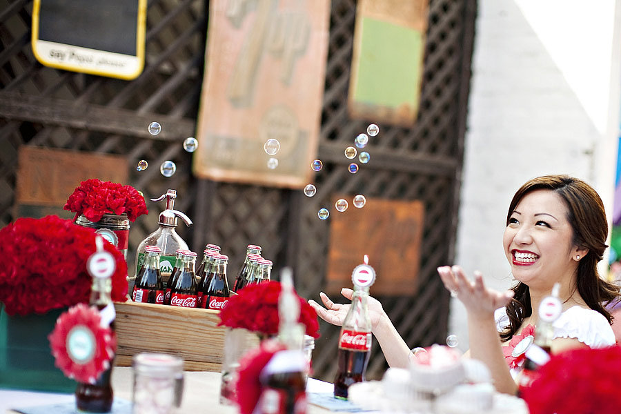 Soda Pop Shop Photo by Sarina Love via The Wedding Chicks