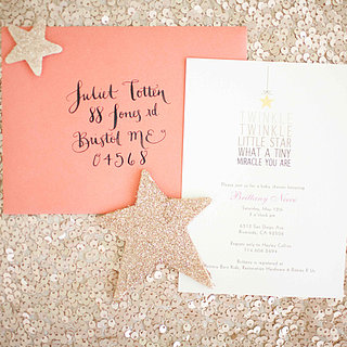 Vintage Glam Twinkle Little Star Baby Shower